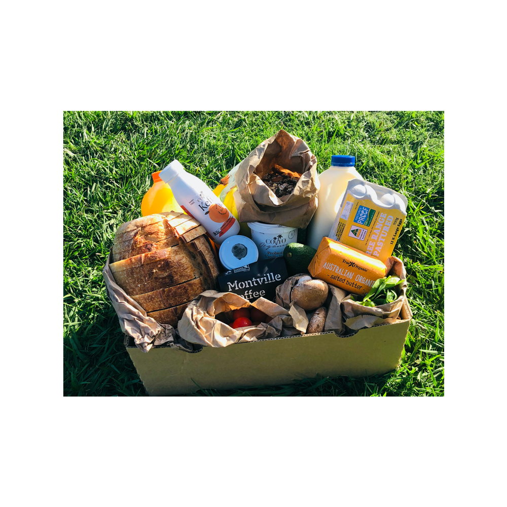 Organic Brekky Hamper (Paleo / Flexitarian - Single/Couples)