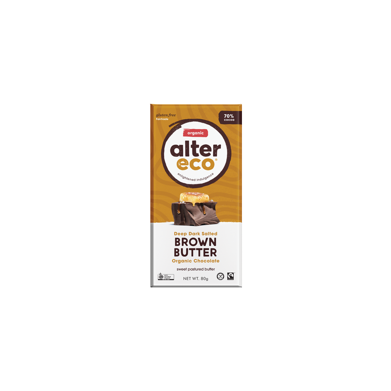 Alter Organic Eco Deep Dark Brown Butter (70% Cocoa)