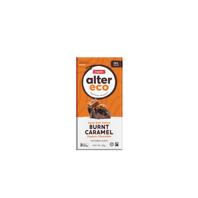 Alter Organic Eco Deep Dark Burnt Caramel (70% Cocoa)