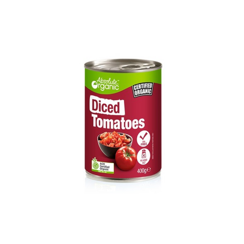Diced Tomatoes (Organic Canned)