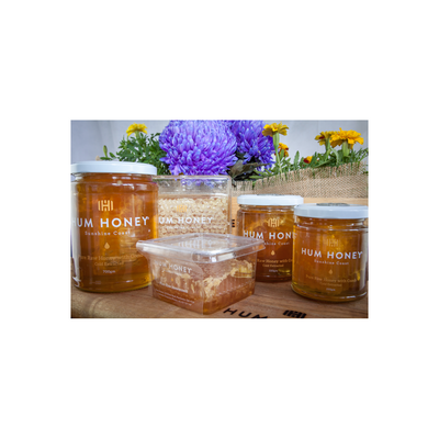 Hum Honey with comb Pure Raw Cold Extracted