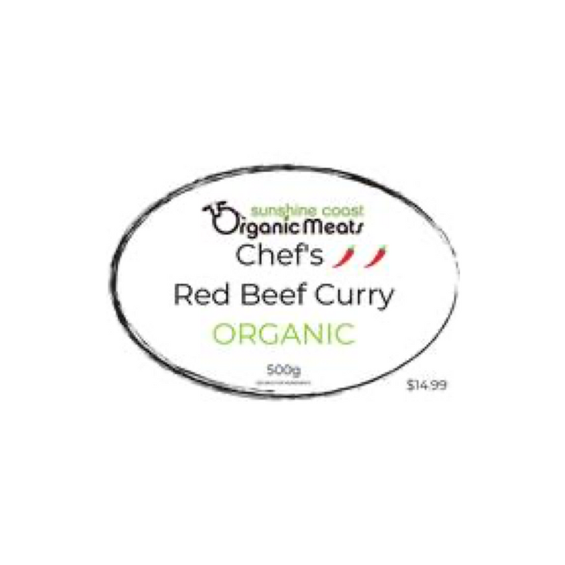 Organic Thai Red Beef Curry