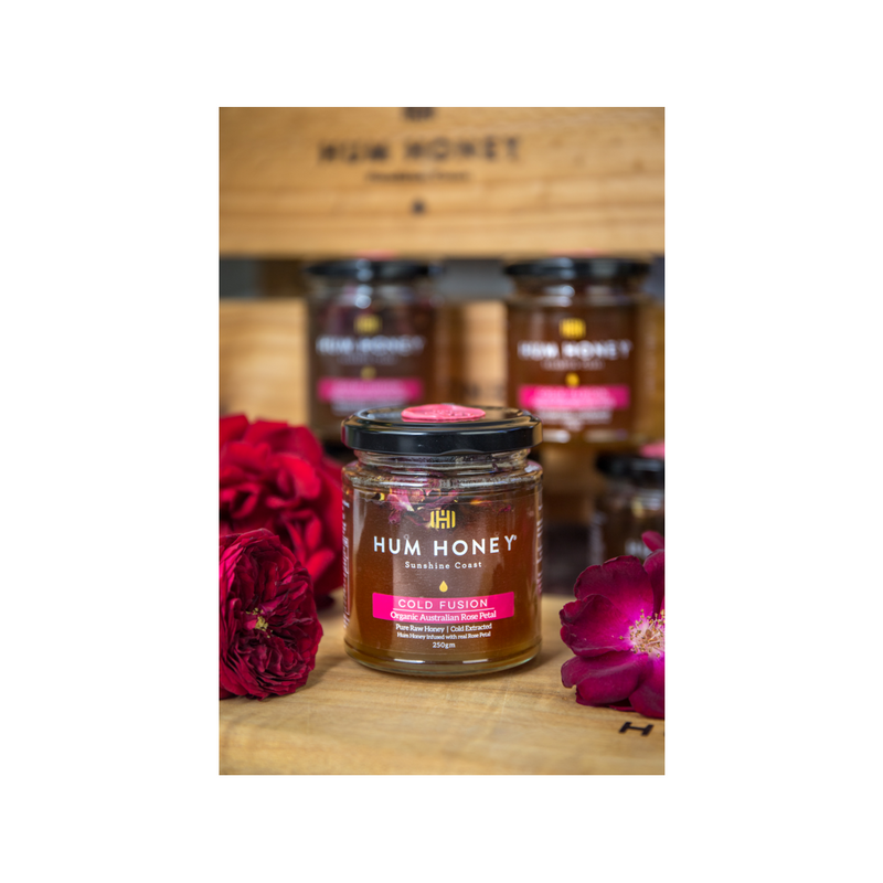Hum Honey Cold Fusion - Organic Rose Petal