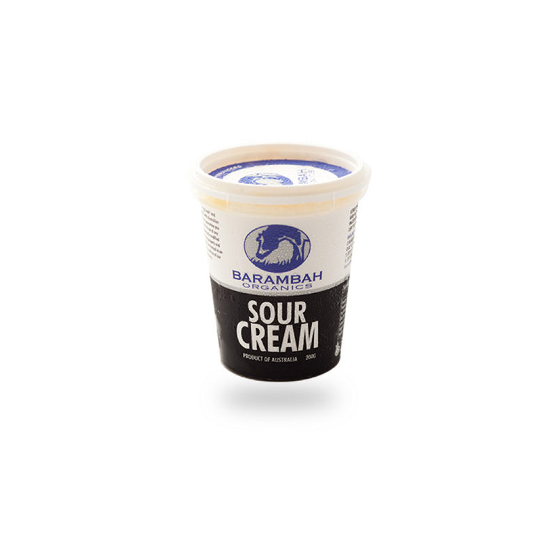 Barambah Organic Sour Cream - 200ml (Organic)