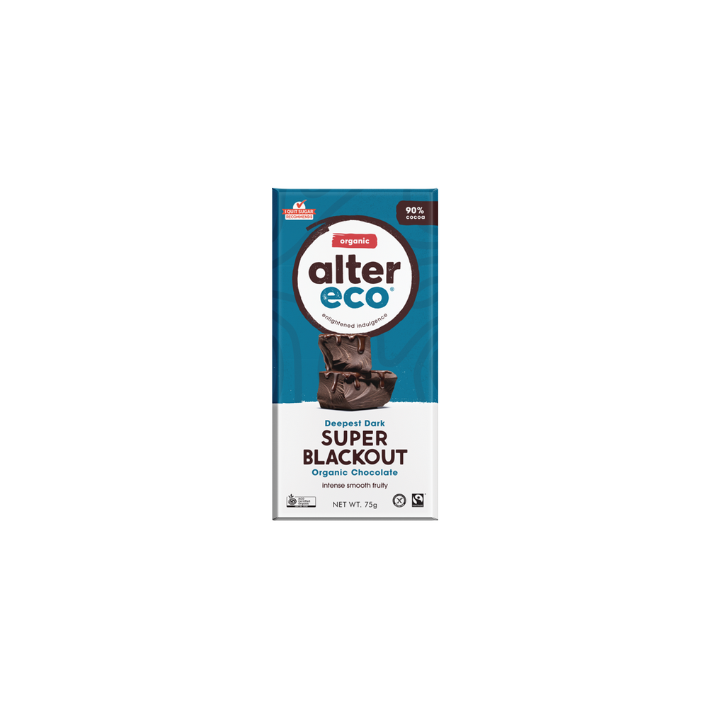 Alter Organic Eco Deepest Dark Super Blackout (90% Cocoa)