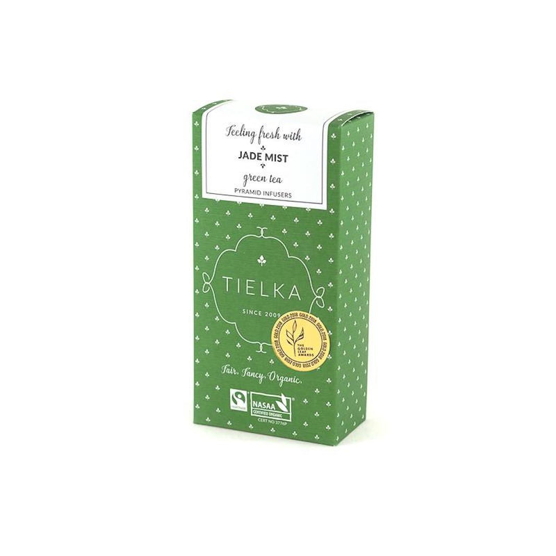 Tielka Tea - Jade Mist Green Tea (Organic & Fairtrade)