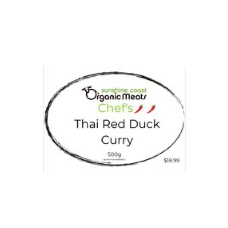 Organic Thai Red Duck Curry