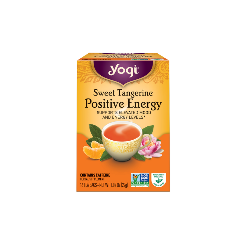 Yogi Tea - Sweet Tangerine Positive Energy