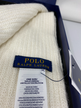 Load image into Gallery viewer, Ralph Lauren Polo - Hat & Scarf Set - Brand new