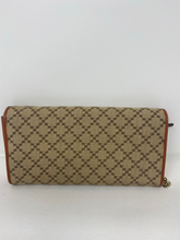 Load image into Gallery viewer, Gucci Diamante Canvas & Leather Wallet on Chain