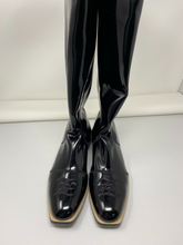 Load image into Gallery viewer, Fendi Glossy Neoprene Boots