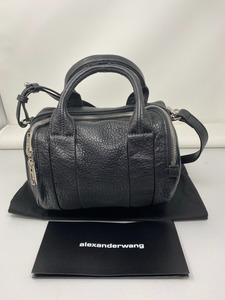 Alexander Wang Rockie Black Pebbled Handbag - Brand New