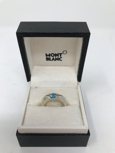 Mont Blanc Boheme Topaz and Amethyst Boheme Ring (Preloved)