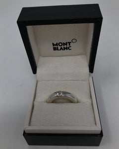 Mont Blanc Boheme Onyx and Crystal Ring