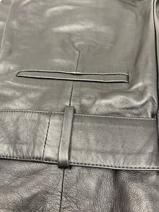 Camila Coelho Cady Leather Trousers - Brand New