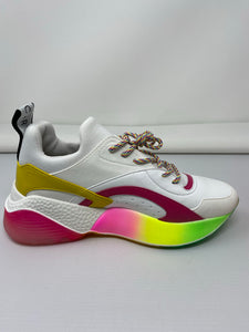 Stella McCartney Eclypse Rainbow Sneakers - Brand New
