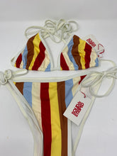 Load image into Gallery viewer, Solid & Striped Amber Multi Stripe String Bikini - Brand New