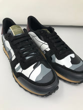 Load image into Gallery viewer, Valentino Camouflage Leather & Suede Rockrunner Trainers (Brand new)
