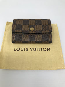 Louis Vuitton Damier Ebene Card and Coin holder