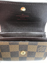 Load image into Gallery viewer, Louis Vuitton Damier Ebene Card and Coin holder