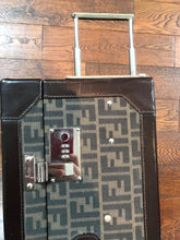 Load image into Gallery viewer, Fendi Vintage Monogram Trunk Zucca Jacquard