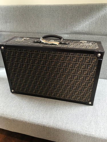 Fendi Vintage Monogram Trunk Zucca Jacquard (Preloved)