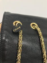 Load image into Gallery viewer, Chloe Black Leather Handbag