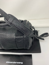 Load image into Gallery viewer, Alexander Wang Rockie Black Pebbled Handbag - Brand New