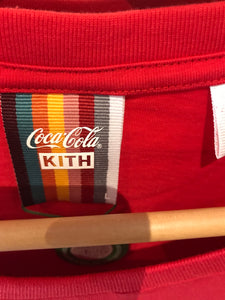 Kith x Coca-Cola Hula Tee Red - Brand New