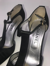 Load image into Gallery viewer, Chanel Black High Heel Shoes