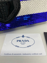 Load image into Gallery viewer, Prada Sequin Righe Clutch