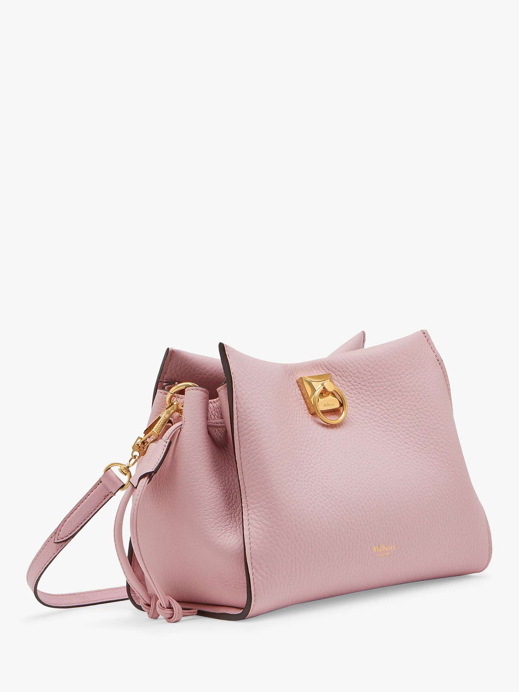 Mulberry Small Iris Powder Pink Heavy Grain - Brand New