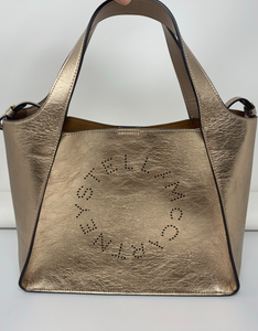 Stella McCartney Rose Gold Logo Tote - Brand New
