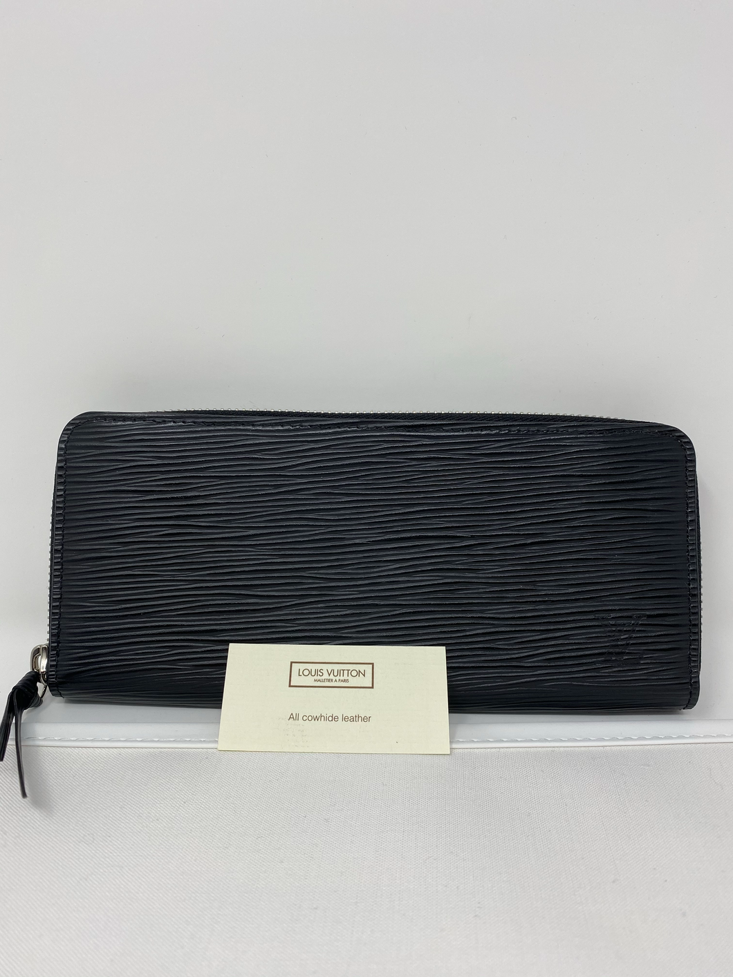 Louis Vuitton Clemence Leather Black Wallet - Brand new