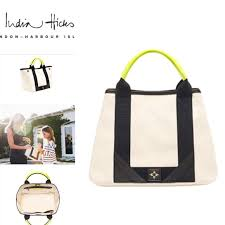 India Hicks Biscayne Bay Bag with Charm (Brand new)