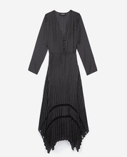 Load image into Gallery viewer, The Kooples Tete d'Epingle Polka Dot Maxi Dress - Brand New