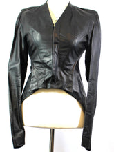 Load image into Gallery viewer, Rick Owens Black Leather Jacket (Preloved)