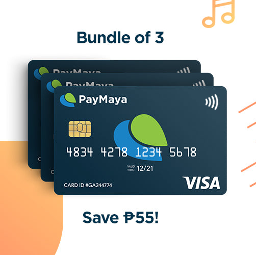 payWave Cards (3pcs)