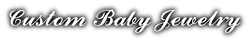 Custom Baby Jewelry - Logo