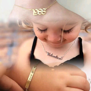 Custom Baby Jewelry Bundle! (Bracelet, Anklet, and Necklace, fully customized!)