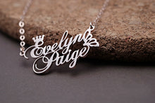 Load image into Gallery viewer, *Exclusive!* Valentines day Special! Couple's Name Necklace (Parental Package!)