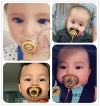 Load image into Gallery viewer, Bling baby Pacifier! - baby names of love