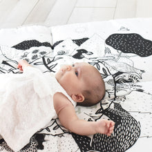 Load image into Gallery viewer, Wee Gallery Organic Cotton Play Mat Forest