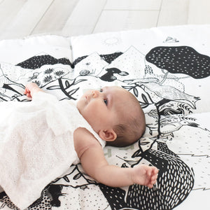 Wee Gallery Organic Cotton Play Mat Forest