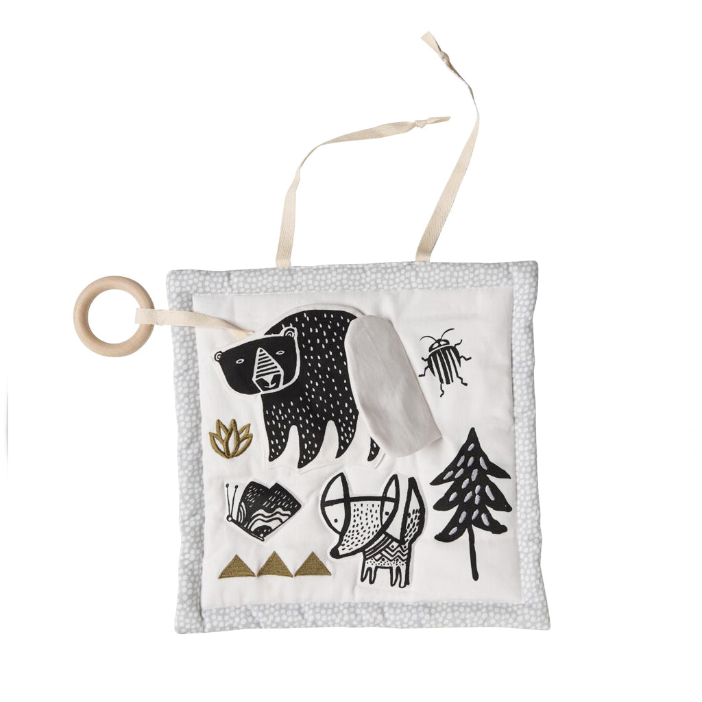 Wee Gallery Organic Cotton Activity Pad Woodland