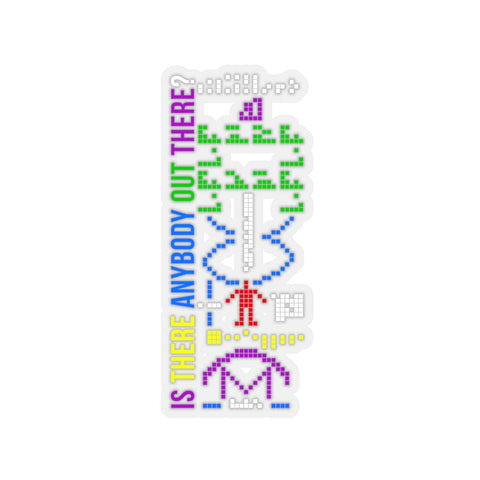 Arecibo Message - Sticker