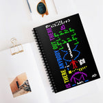 Arecibo Message Spiral Notebook