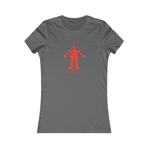 Arecibo Message: Human Proportion - Women's Favorite Tee