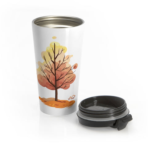 AO Fall Tree - Stainless Steel Travel Mug