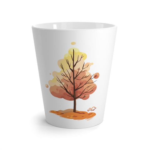 AO fall Tree - Latte mug